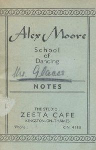 1939 aunt-rosie attended dance academy in London