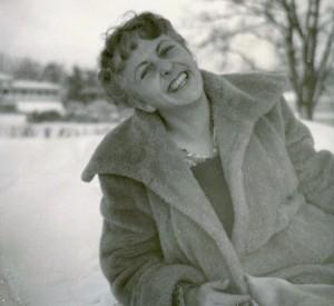 1951 Zweedse sneeuw aunt-rosie tante-roosje