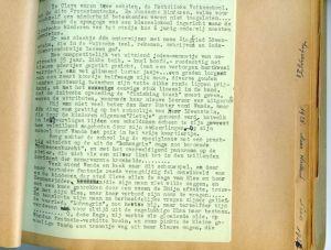 Rosie's manuscript