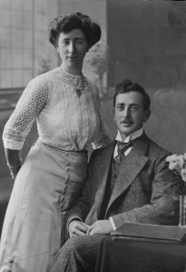 Rosie's parents, Falk and Josephine Glaser, 1909