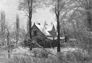 The Coljee residence in Naarden, where Rosie and her mother lived under false identities