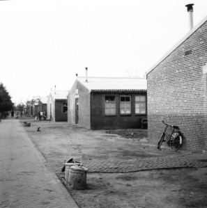 Rosie's barrack in Camp Vught (photo taken by Rosie in 1953)
