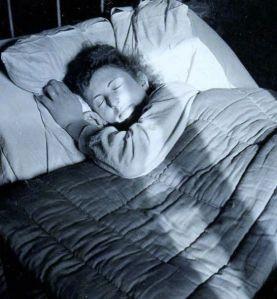Rosie sleeping, 1941