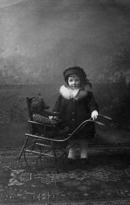 Rosie at age three, 1917