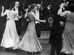 A still from the Polygon Newsreels' 1940–41 season
