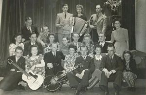 Rosie's dance students in Eindhoven, 1941