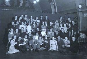 Rosie's dance students in Tilburg, 1941