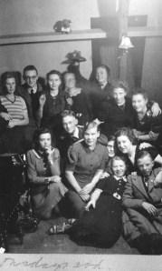 Rosie's illegal attic dance school, 1942