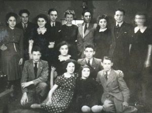 Thursday night class at illegal dance club, 1942