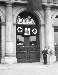 Wim and Franz in Düsseldorf, 1934