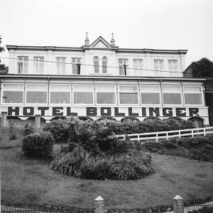 The Hotel Bollinger in Kleef, 1918