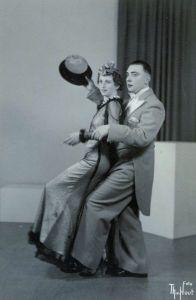 Rosie and Leo, 1937