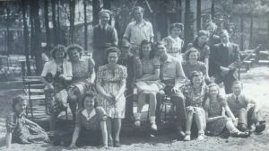 A trip to the Durnese Dunes with the Tilburg students, April 1942