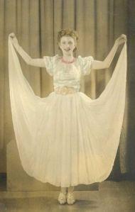 Rosie dancing ballet